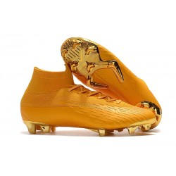 Zapatillas de fútbol Nike Mercurial Superfly VI 360 Elite FG Dorado