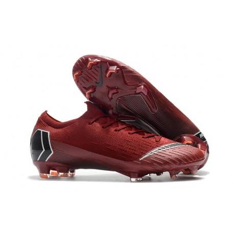 Mercurial Elite De Rojo Vapor Baratas Fg Fútbol Nike Botas Xii Negro sCQrthdx