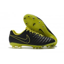Zapatillas de Fútbol Nike Tiempo Legend VII FG Amarillo Negro