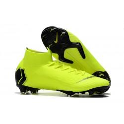 Botas de fútbol Nike Mercurial Superfly VI 360 Elite FG Amarillo Fluorescente