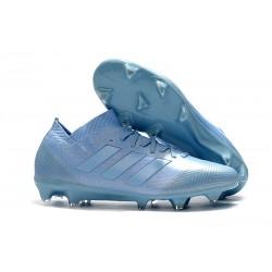 Baratas Botas de fútbol Adidas Nemeziz Messi 18.1 FG Azul