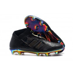 Botines Futbol adidas - Zapatos de fútbol Nemeziz 18+ FG - Negro