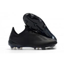 Botas de fútbol Adidas X 18.1 FG Para Hombre Todo Negro