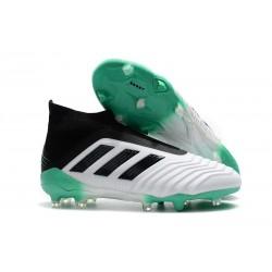 Botas de fútbol adidas Predator 18+ FG - Blanco Verde