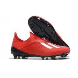 Botas de fútbol adidas X 18+ FG Plata Roja