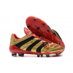 Botas de fútbol Baratas - Adidas Predator Accelerator Electricity FG Oro Rojo Negro