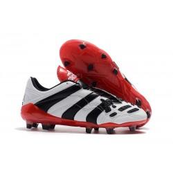 Botas de fútbol Baratas - Adidas Predator Accelerator Electricity FG Blanco Negro Rojo