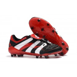 Botas de fútbol Baratas - Adidas Predator Accelerator Electricity FG Negro Blanco Rojo