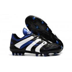Botas de fútbol Baratas - Adidas Predator Accelerator Electricity FG Negro Blanco Azul
