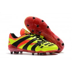 Botas de fútbol Baratas - Adidas Predator Accelerator Electricity FG Amarillo Rojo Negro