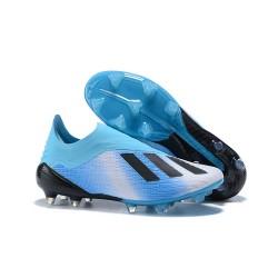 Botas de fútbol adidas X 18+ FG Azul Negro