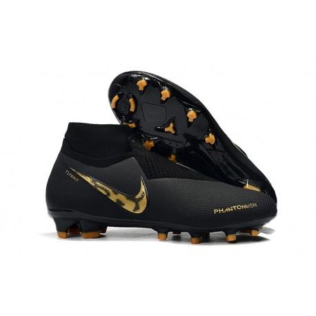 Botas de fútbol para Hombre Nike Phantom Vision Elite DF FG Black Lux