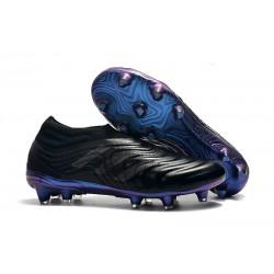 Zapatillas de fútbol Adidas Copa 19+ FG Negro Azul