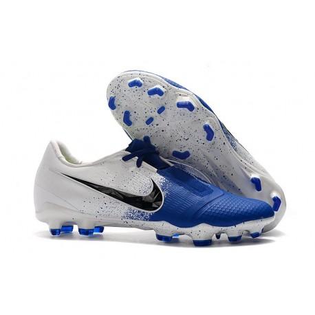 Nike Zapatillas de Futbol Phantom Venom Elite FG Blanco Azul Negro