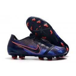 Nike Zapatillas de Futbol Phantom Venom Elite FG Obsidiana Azul Negro