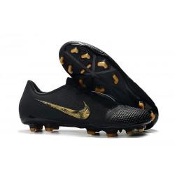 Nike Zapatillas de Futbol Phantom Venom Elite FG Negro Oro