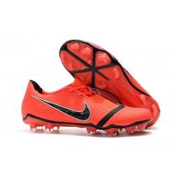 Nike Zapatillas de Futbol Phantom Venom Elite FG Rojo Negro