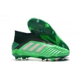 Botas de Fútbol adidas Predator 19+ FG Verde Argento
