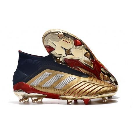 Botas de Fútbol adidas Predator 19+ FG Oro Argento