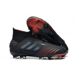 Botas de Fútbol adidas Predator 19+ FG Negro Rojo