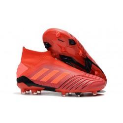 Botas de Fútbol adidas Predator 19+ FG Rojo