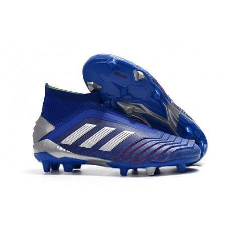 Botas de Fútbol adidas Predator 19+ FG Azul Argento