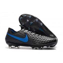 Botas de Fútbol Nike Tiempo Legend 8 Elite FG Negro Azul