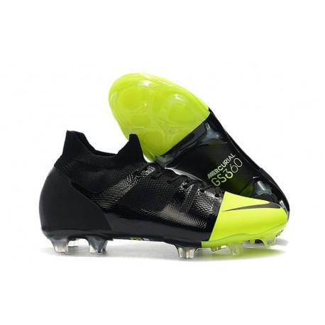 Nike Mercurial GreenSpeed 360 Botas Negro Verde