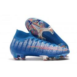 Nike Mercurial Superfly 7 Elite FG Botas - Azul Rojo