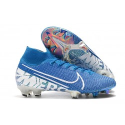 Nike Mercurial Superfly 7 Elite FG Botas - New Lights Azul