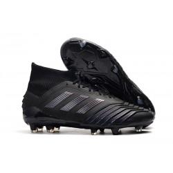 Zapatillas de fútbol adidas Predator 19.1 FG Negro
