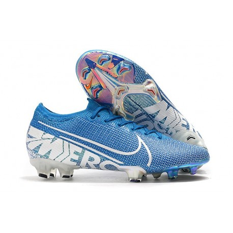 Zapatos de Fútbol Nike Mercurial Vapor 13 Elite FG New Lights Azul