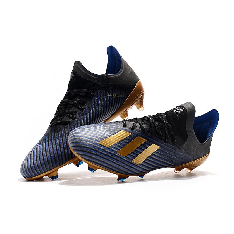 Botas Oro Fútbol De X Fg Negro Adidas 1 19 Azul hQrtsCdx