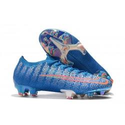 Zapatos de Fútbol Nike Mercurial Vapor 13 Elite FG Azul Rojo