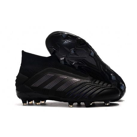 adidas Zapatillas de Futbol Predator 19+ FG Negro