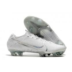 Zapatos de Fútbol Nike Mercurial Vapor 13 Elite FG Blanco