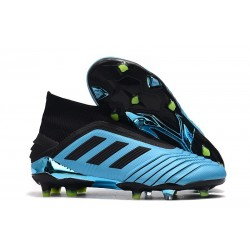 adidas Zapatillas de Futbol Predator 19+ FG Azul Negro
