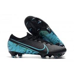 Zapatos de Fútbol Nike Mercurial Vapor 13 Elite FG Negro Azul