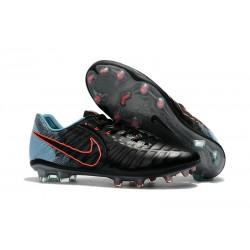 Tacos de futbol Nike Tiempo Legend 7 FG Negro Azul Naranja