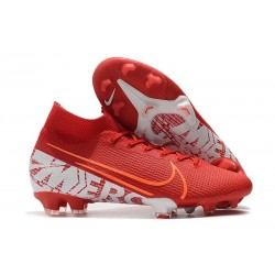 Nike Mercurial Superfly 7 Elite FG Botas - Rojo Blanco