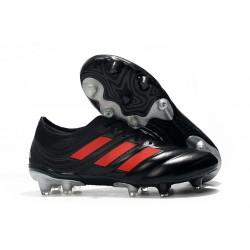 Botas de fútbol Adidas Copa 19.1 FG Negro Rojo