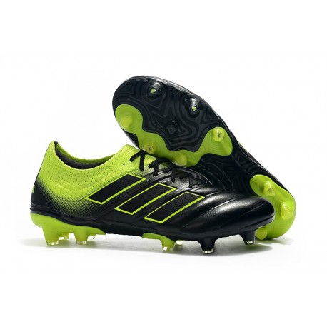 Zapatillas de fútbol Adidas Copa 19.1 FG Negro Voltio