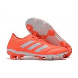 Zapatillas de fútbol Adidas Copa 19.1 FG Rojo Blanco