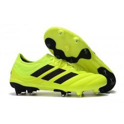 Zapatillas de fútbol Adidas Copa 19.1 FG Voltio Negro