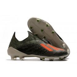 Botas de fútbol Nuevo Adidas X 19+ FG Verde Naranja Chalk