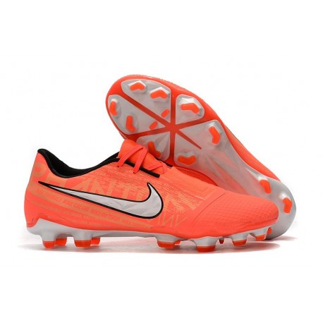 Nike Zapatillas de Futbol Phantom Venom Elite FG Mango Brillante Blanco