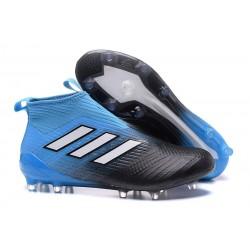 Bota de fútbol ACE 17+ Purecontrol Para Hombres Azul Nergro