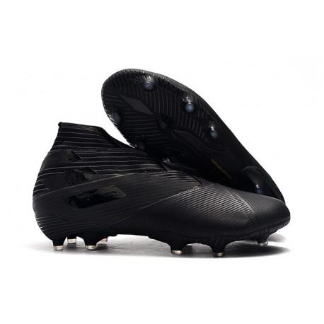 Zapatos de Fútbol adidas Nemeziz 19+ FG - Negro
