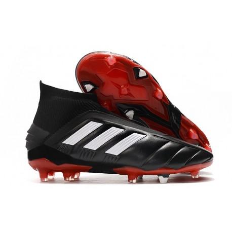 Zapatillas de Futbol adidas Predator Mania 19+FG ADV Negro Blanco Rojo