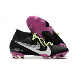 Zapatillas Nike Mercurial Superfly VII Elite SE FG Negro Violeta